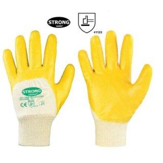 STRONG HAND® YELLOWSTAR, 100% Baumwolle, Nitrilhandschuh