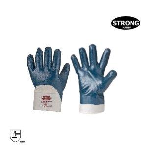 STRONGHAND® 0653 BLUESTAR, 100% Baumwolle Arbeitsschutzhandschuhe - Nitril