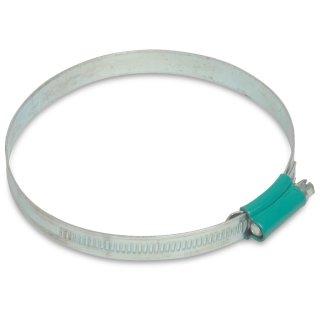 Schneckengewindeschellen / Schlauchschellen, W1, verzinkt, Bandbreite: 9 / 12 mm, Spannbereich: 8- 240 mm