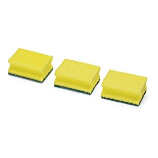 Topfreiniger / Spülschwamm, 9 x 7 x 4,5 cm, 3er-Pack
