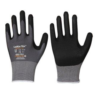 LeiKaFlex® Feinstrick-Handschuh mit Nitril-Foam-Beschichtung