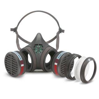 Moldex Serie 8000 Halbmaske, Partikelfilter P2 R, P3 R, Gasfilter A2