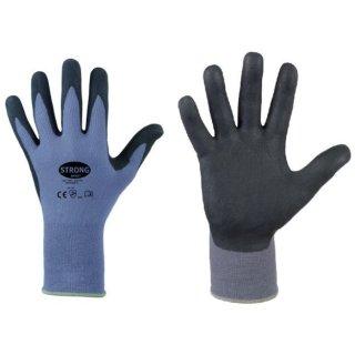 STRONG HAND® 0605 BATAN, Nylon-Feinststrickhandschuh, Micro-Nitrilschaum
