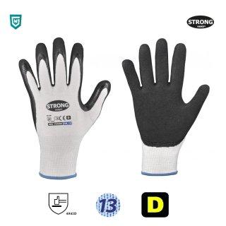 STRONG HAND® 0825 PUYANG Feinstrickhandschuhe, Schnittschutzlevel nach EN ISO 13997, Level D