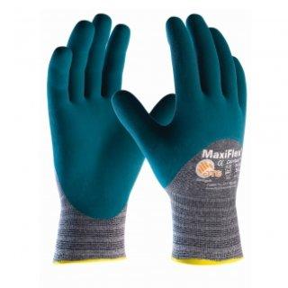 Maxiflex® Comfort™, Baumwolle-/Nylon Arbeitshanschuhe, hellgrau/blau
