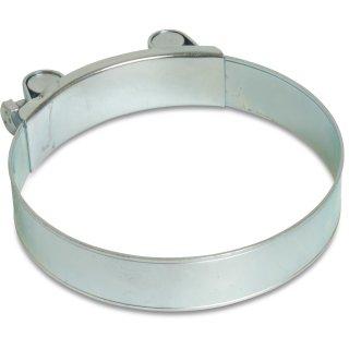 Spannbackenschelle / Gelenkbolzenschelle, W1, verzinkt, Bandbreite: 17 - 26  mm, Spannbereich: 17 - 280 mm, 1 10 Stück