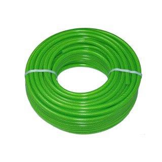 PVC Gewebeschlauch, leuchtgrün, Schlauch-Ø innen 6 9 13 mm, Rolle à 50 m