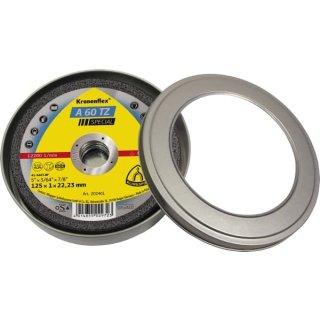 Klingspor Trennscheibe A 60 TZ, 115 / 125 x 1 x 22,23 mm, gerade, für Edelstahl, Stahl und Nichteisenmetall