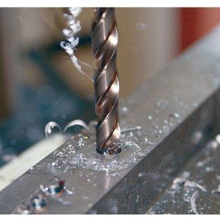 Projahn Progresso Spiralbohrer mit Zylinderschaft, geschliffen, HSS-G Typ SN nach DIN 338, 1,0 - 20,0 mm-Ø