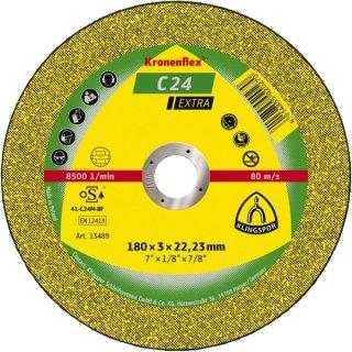 Klingspor Trennscheibe C 24 Extra, für Stein und Beton, 115 - 300 x 2,0 - 3,5 x 22,23 mm, gerade oder gekröpft