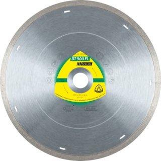 Klingspor DT 900 FL Special Diamanttrennscheibe, für harte Fliesen, Porzellan, Keramik u. Marmor, 115 - 230 x 1,6 x 22,23