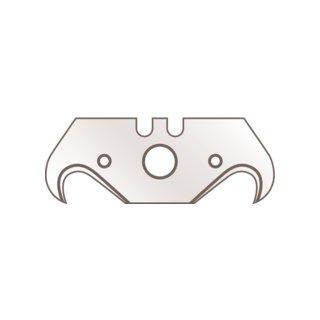 Martor Hakenklingen Nr. 56.70, Stahl, Länge: 51 mm, Breite: 19 mm, Materialstärke: 0,63 mm, 10 Stück im Spender