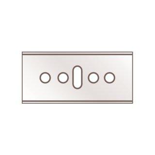 Martor Industrieklingen Nr. 45.60, Stahl, Länge: 39 mm, Breite: 18,4 mm, Materialstärke: 0,3 mm, 10 Stück