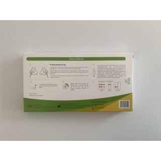 Hotgen NOVEL 2019-nCoV Corona Antigen Selbsttest Nasentest, Einzelpack