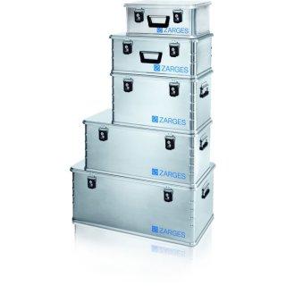 ZARGES-Box, Aluminium, 24 - 135 l, inkl. Zylinderschloss und Schlüssel