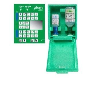 Plum Kombi-Augenspülstation in Wandbox