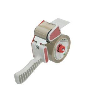 Handabroller für Packband, mit Bremse, für Packband Breite: 50 mm