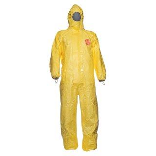 DuPont™ Tychem® 2000 C, Schutzanzug, gelb, CAT III, Type 3B/4B/5B/6B, Gr. M-XXXL