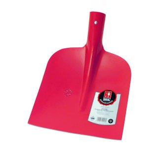 IDEAL Holsteiner Sandschaufel SIEGER, Größe 2, 1/2 gehoben, gehärtet, rot pulverbeschichtet, 5104103600
