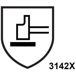 STRONG HAND® 0258 Rindleder-Schweißerhandschuh VS 53/F, Größe 10,5
