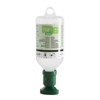 plum Augenspülung, sterile 0,9 % Natriumchloridlösung, 200 / 500 ml Flasche